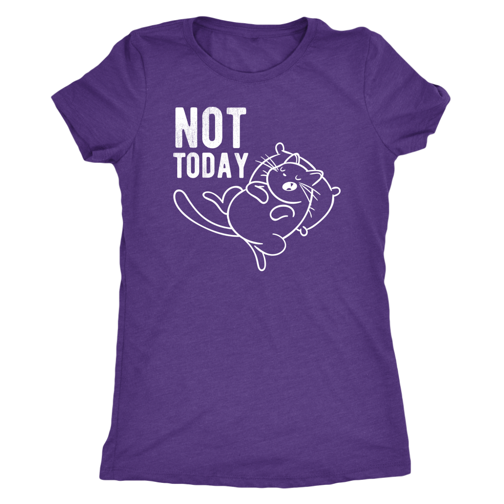 """Not Today"" Women's Triblend T-Shirt"