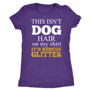 """This Isn't Dog Hair"" Women's Triblend T-Shirt"