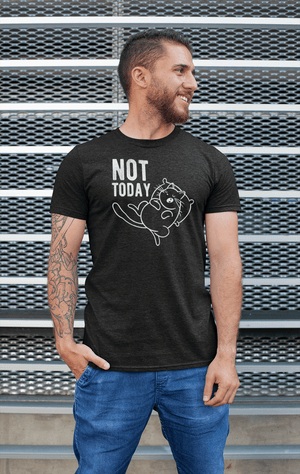 """Not Today"" Men's Triblend T-Shirt"