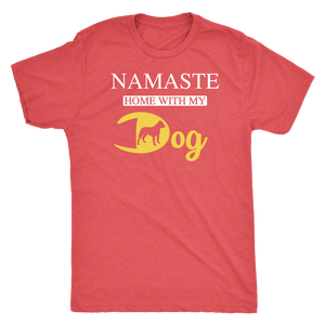 """Namaste"" Men's Triblend T-Shirt"