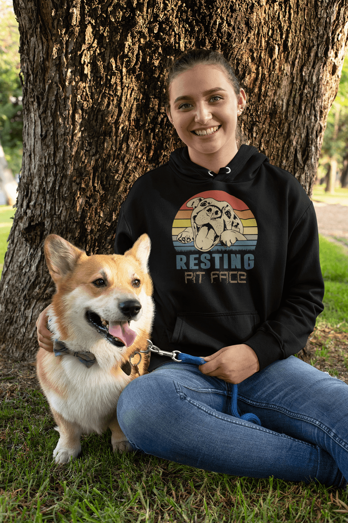 """Resting Pit Face"" Unisex Hoodie"
