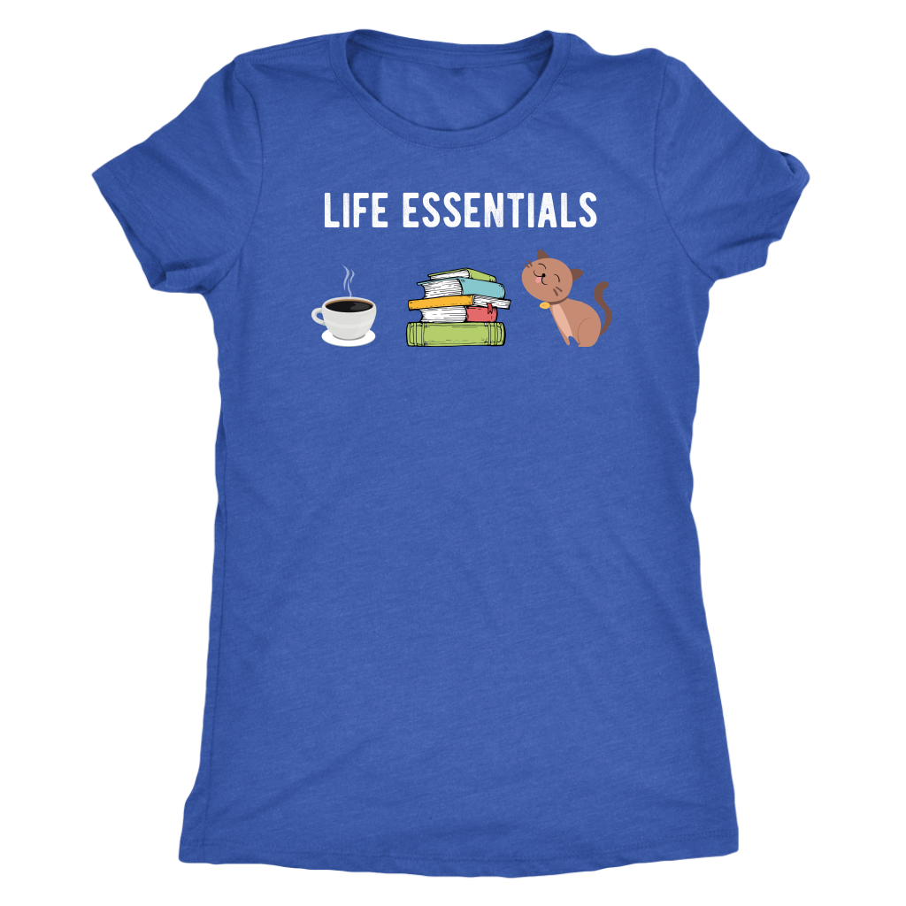 """Life Essentials"" Women's Triblend T-Shirt"