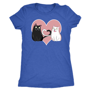 """Cat Lover"" Women's Triblend T-Shirt"