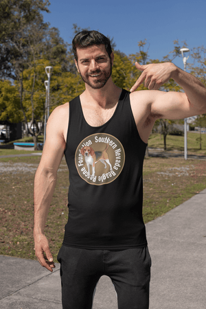 """Southern Nevada Beagle Rescue Foundation"" Men's Tank Top"