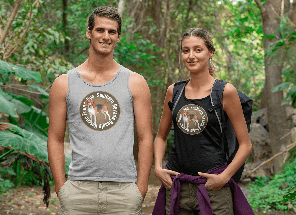 """Southern Nevada Beagle Rescue Foundation"" Unisex Tank Top"