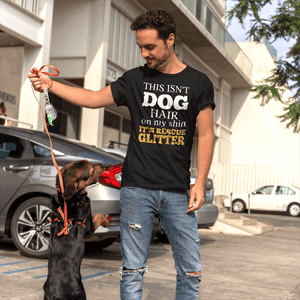 """This Isn't Dog Hair"" Men's Triblend T-Shirt"