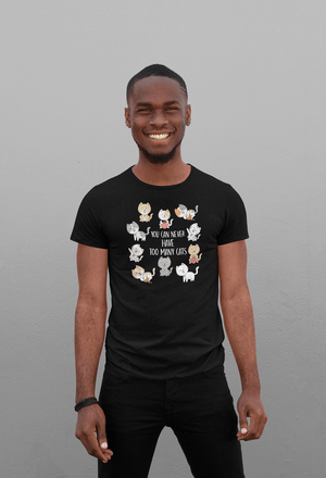 """You Can Never Have Too Many Cats"" Men's Triblend T-Shirt"