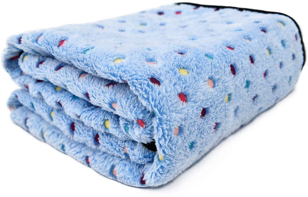 Plush Fleece Pet Blanket For Cats And Dogs