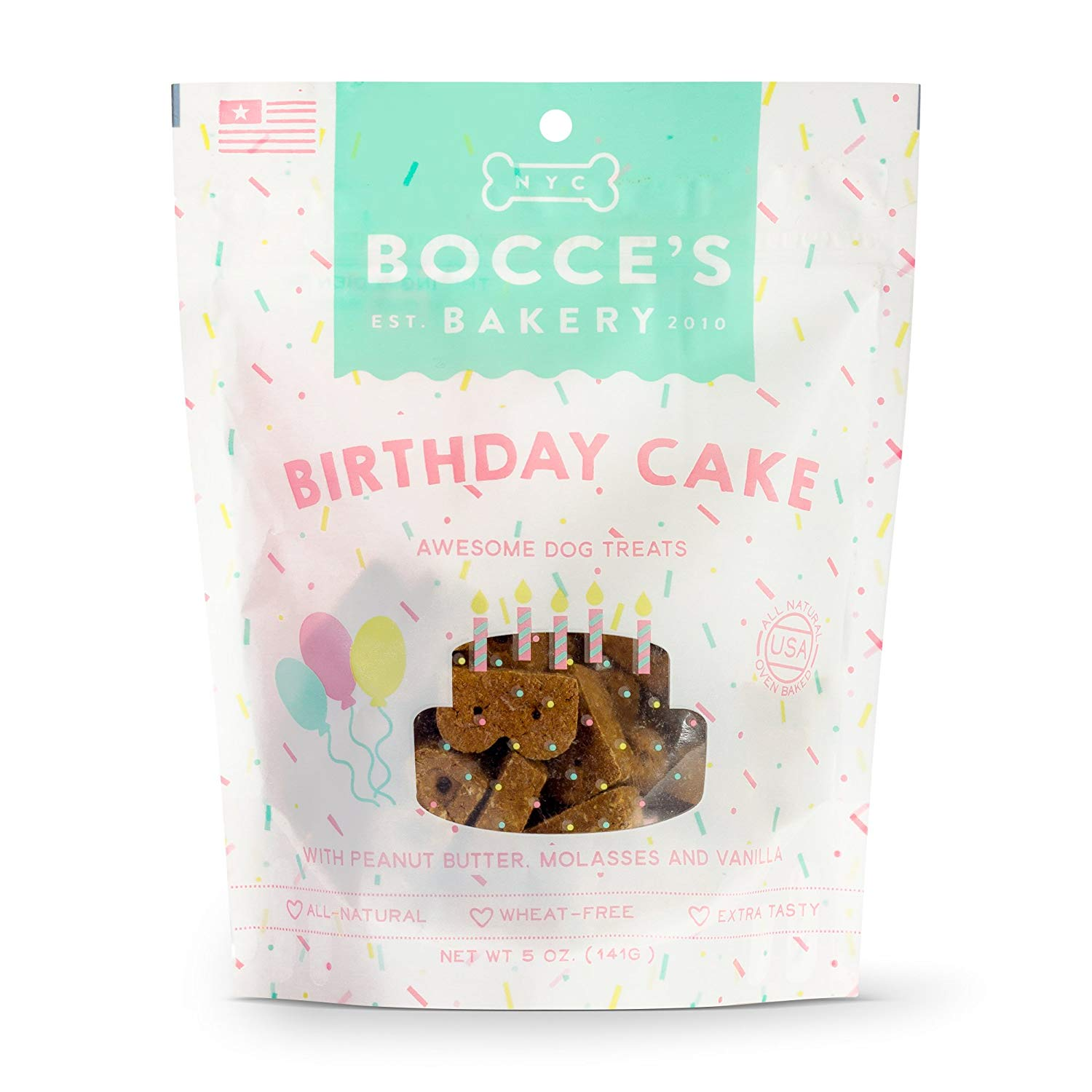 Birthday Cake Biscuits Dog Treats