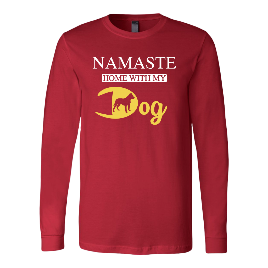 """Namaste"" Unisex Long Sleeve Shirt"