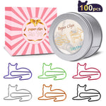 Cute Cat Paperclips Desk Accessories