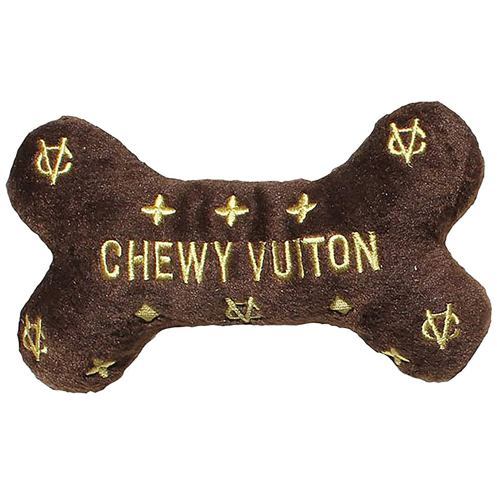 Chewy Vuiton Plush Squeaky Dog Toy (Large)