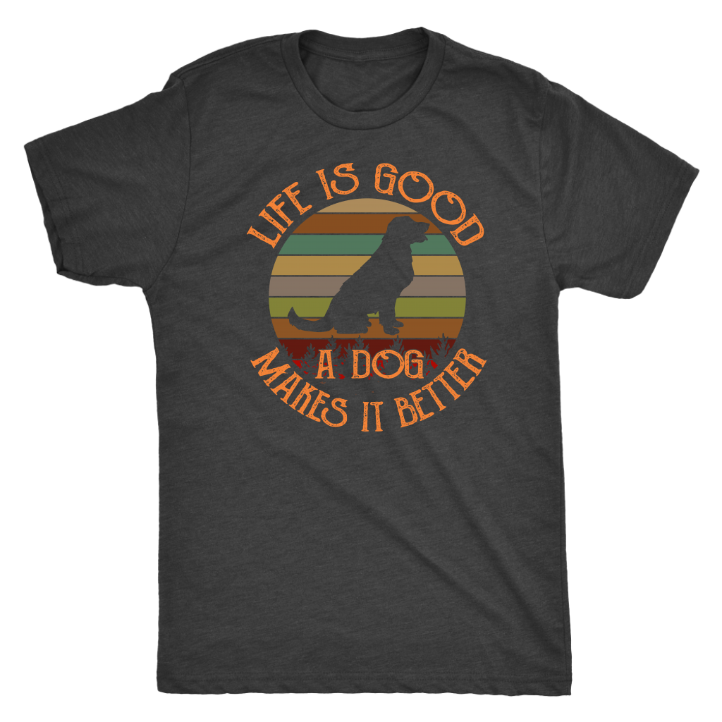 """Life Is Good"" Men's Triblend T-Shirt"