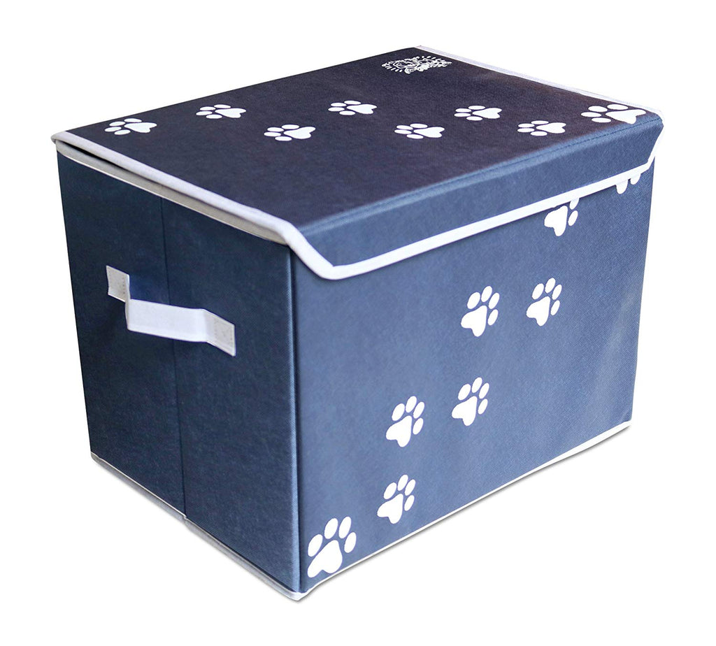 Canvas Collapsible Cat Toy Storage Box
