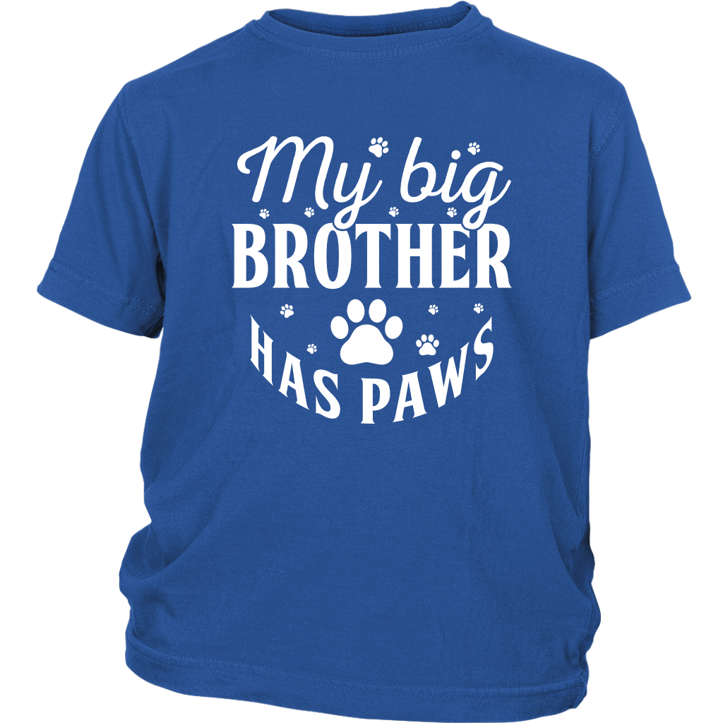 """My Big Brother Has Paws"" Youth T-Shirt"