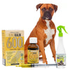 King Kalm 600mg Hemp Oil For Boxers + FREE Klean Bed Spray