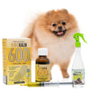 King Kalm 600mg Hemp Oil For Pomeranian + FREE Klean Bed Spray