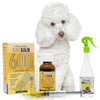 King Kalm 600mg Hemp Oil For Poodles + FREE Klean Bed Spray