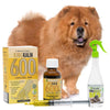 King Kalm 600mg Hemp Oil For Chow Chows + FREE Klean Bed Spray