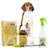 King Kalm 600mg Hemp Oil For English Foxhounds + FREE Klean Bed Spray