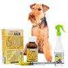 King Kalm 600mg Hemp Oil For Welsh Terriers + FREE Klean Bed Spray