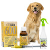 King Kalm 600mg Hemp Oil For Golden Retrievers + FREE Klean Bed Spray