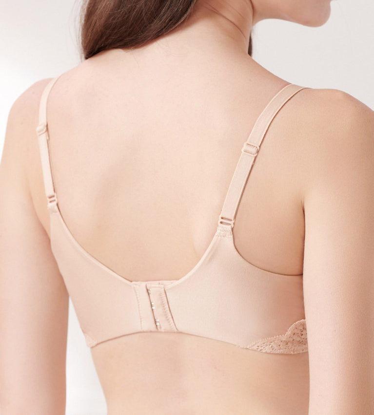 Comfort Touch Wired Padded Bra - NEUTRAL BEIGE