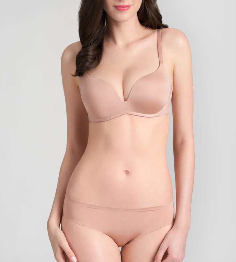 Magic Wire Lite Push Up Bra - PINK PEARL