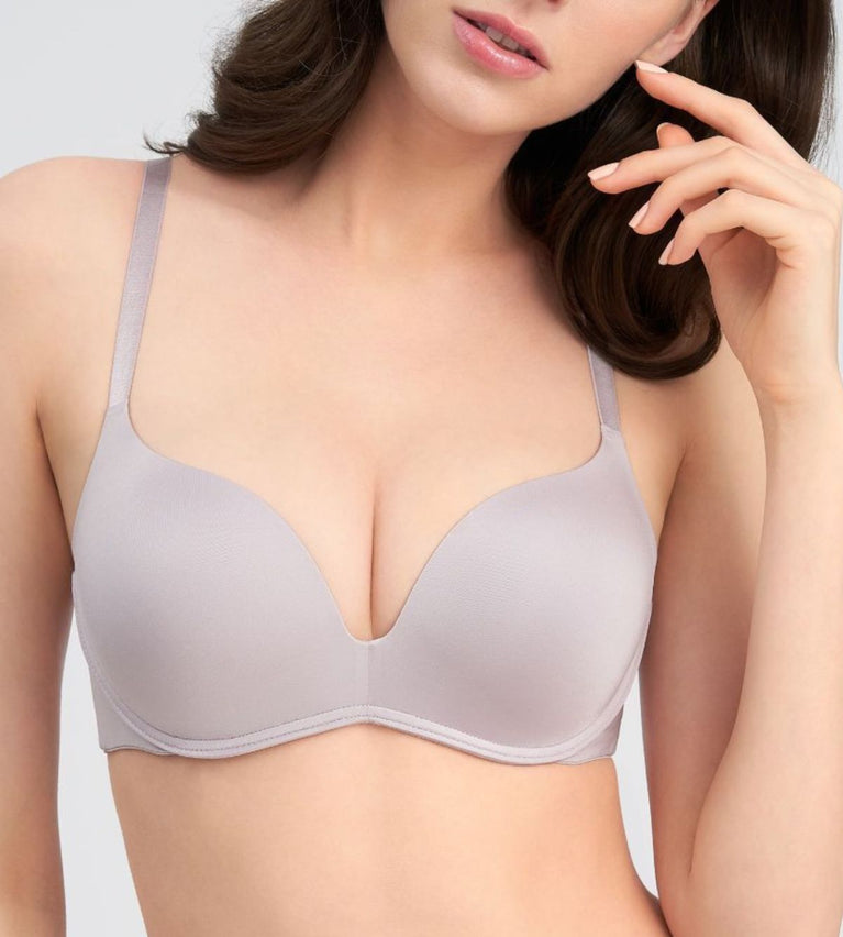 Magic Wire Lite Push Up Bra - TENDER PURPLE