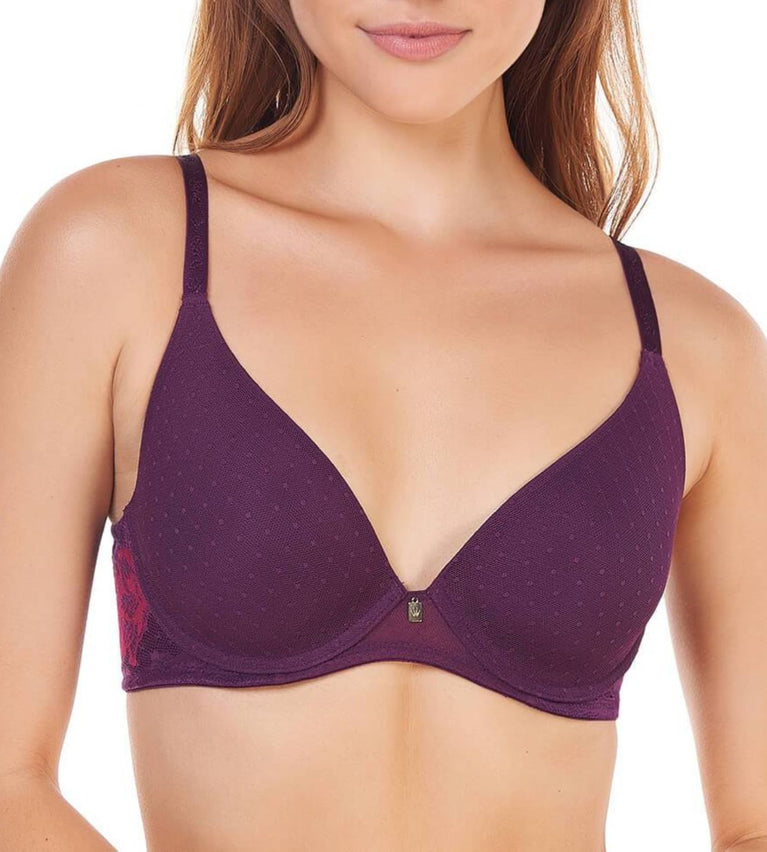 Magic Wire Lite Wired Padded Bra - PLUM PURPLE