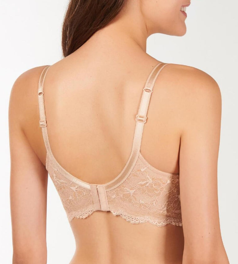 Natural Elegance Wired Uplift Bra - NEUTRAL BEIGE