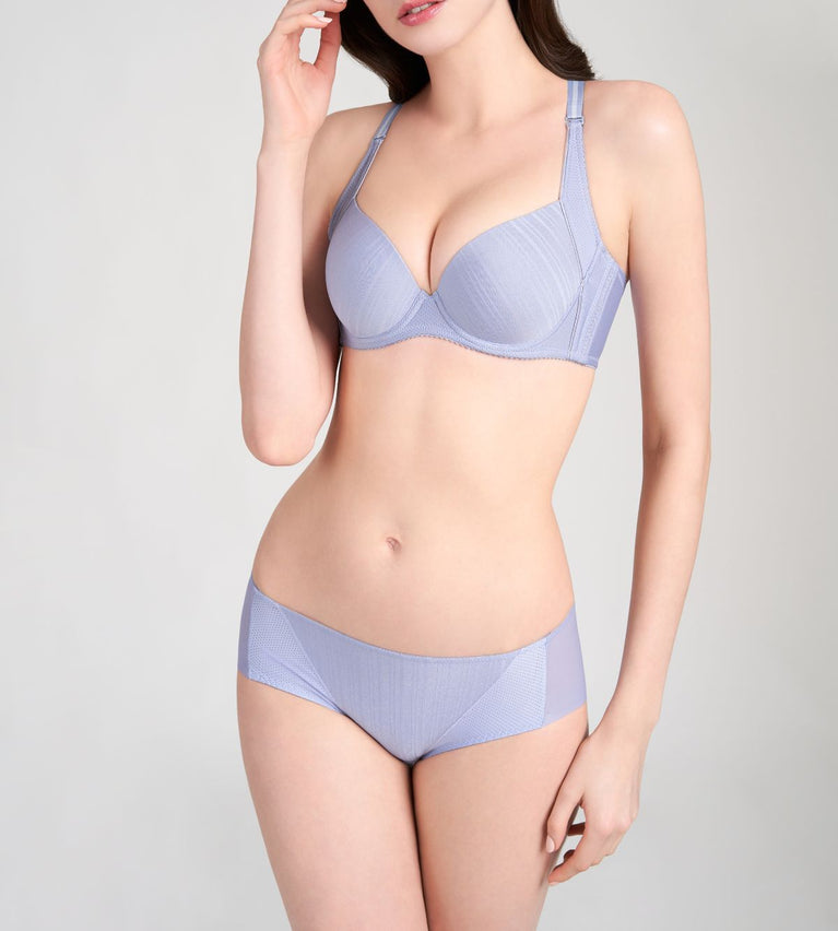 Pure Invisible Wired Padded Bra - EVENING HAZE