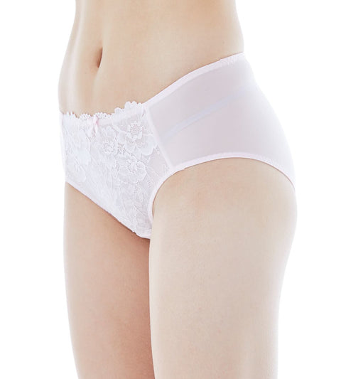Sculpt Cornflower Panty - Hipster - PURE PINK