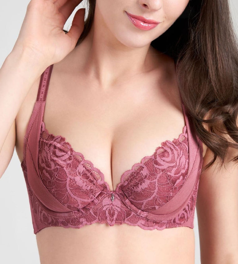 Sculpt Rosanne Wired Push up Bra - WILD RASPBERRY