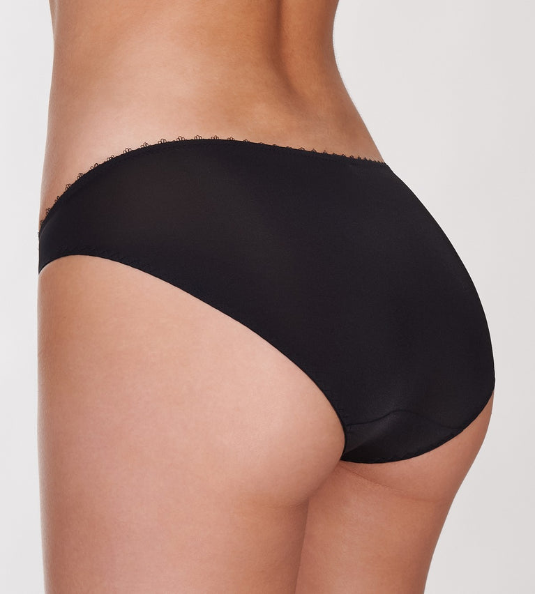 Sexy Cushion Basic Panty - Mini - BLACK COMBINATION