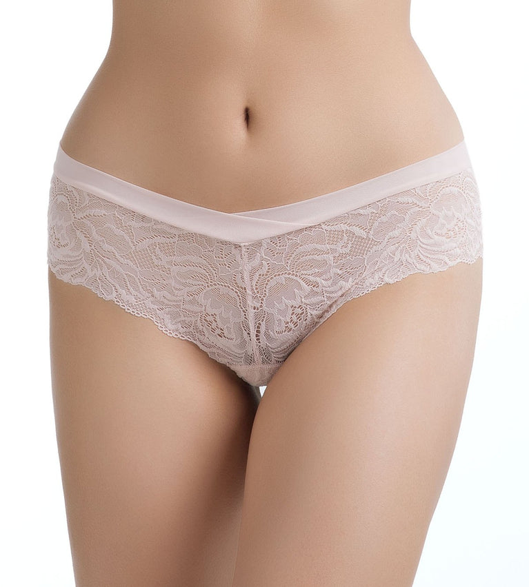 Starry Delight Brazilian Panty - SOFT MAUVE