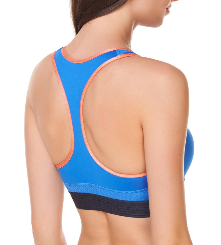 Triaction Sports Non-Wired Sports Bra - BLUE - LIGHT COMBINATION
