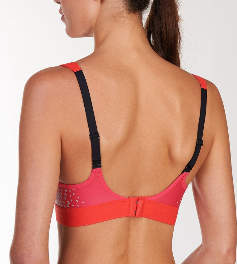 Triaction Sports Wired Sports Bra - PINK LEMONADE