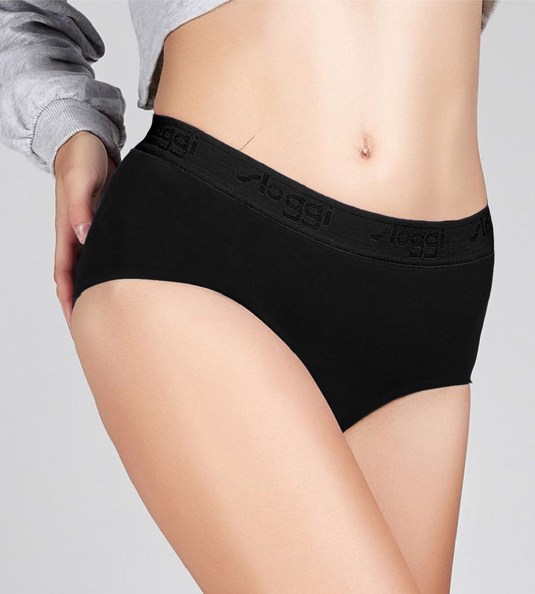sloggi The' 79 Maxi Panty - BLACK