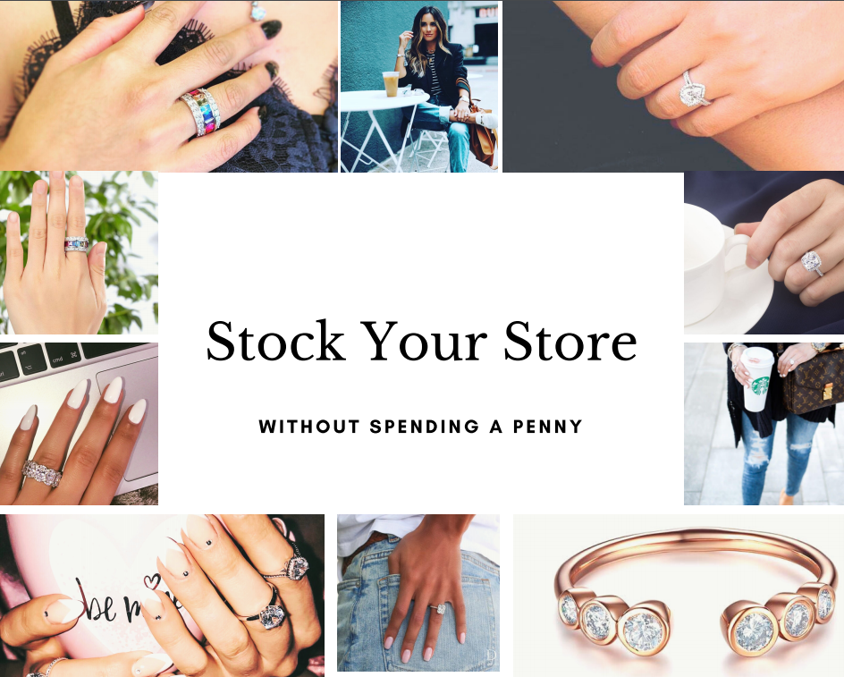 Add inventory to your eccomerce store by dropshipping. Drop jewellery