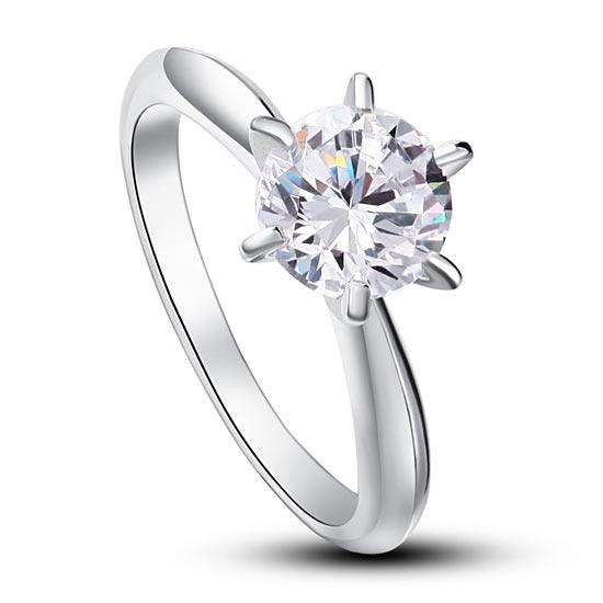 Corrinne Solitaire Ring