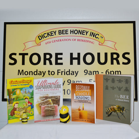 Books, Toys, Custom Labels  & Honey Signs