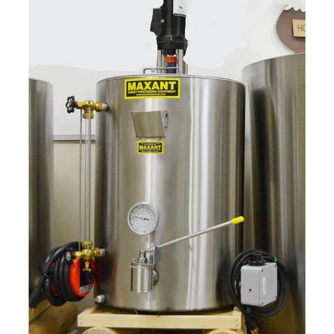 Maxant 200lb Bottling Tank with Creamer