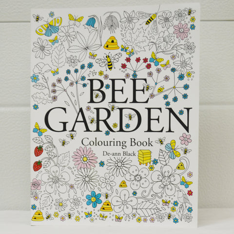 Bee Garden Colouring Book
