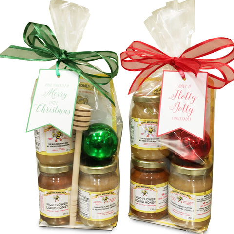 Christmas Honey Sample  Gift Pack