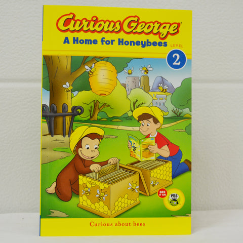 Curious George - Home for Honey Bees Book