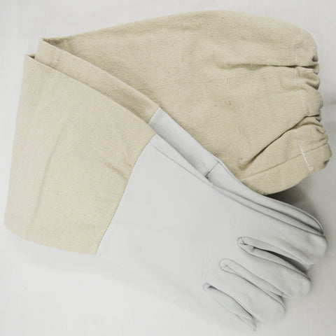 Gloves - Sheepskin/Canvas