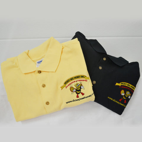 Dickey Bee Honey Golf Shirts