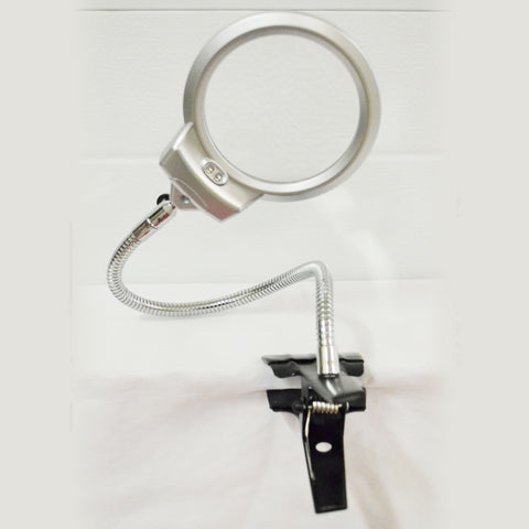 Magnifying Glass with Clamp