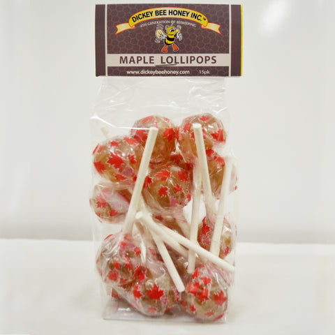 Maple Lollipops